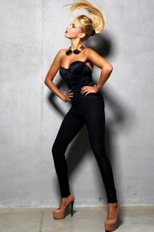 Legz Skin Jean Pant Angelina Noir