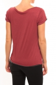 Vero Moda Too Cool S/S Top it 10100655 Rouge