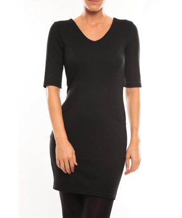 Vero Moda Regina 2/4 Short Dress 10099101 Noir