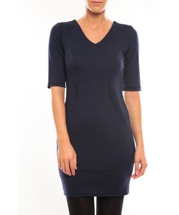Vero Moda Regina 2/4 Short Dress 10099101 Bleu