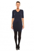 Vero Moda Regina 2/4 Short Dress 10099101 Bleu