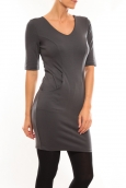 Vero Moda Regina 2/4 Short Dress 10099101 Gris
