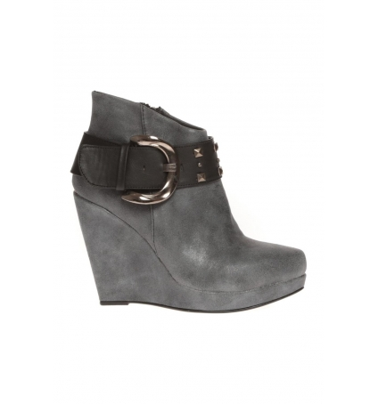 Cassis Côte D'azur Bottines Anaee Belt Noir