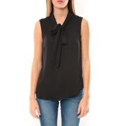 Vero Moda Heston S/L Bow Top 10099278 Noir