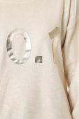 De Fil en Aiguille Pull Sophyline & Co 9015 Blanc