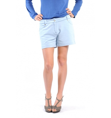 SHORT KEY131 BLEU JEANS