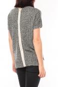 De Fil en Aiguille Tee shirt S13010 Noir