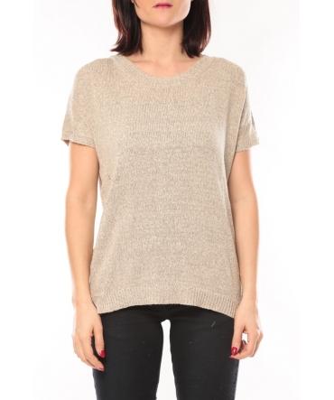 De Fil en Aiguille Tee shirt S13010 Taupe