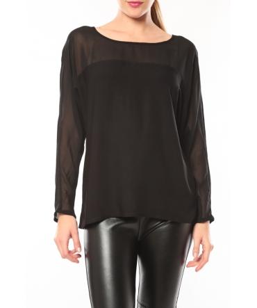 Vero Moda Melnes 7/8 Top 10106830 Noir