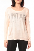 De Fil en Aiguille Pull Vintage & Dressing 8233 Rose