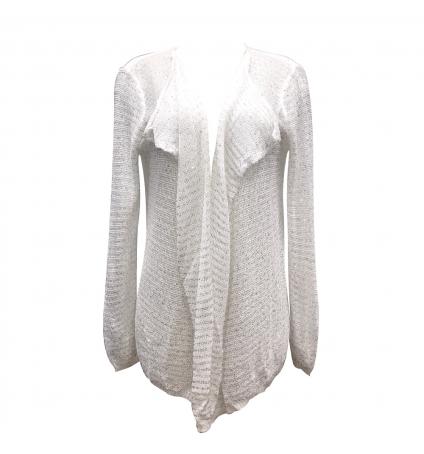 De Fil en Aiguille Gilet Wind Fashion 8E8307 Blanc