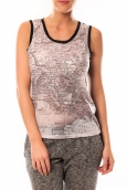 Vero Moda Map SL TOP 10105858 Noir