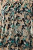 Vero Moda Katty Lee 3/4 Tunic 10105918 Bleu/Vert