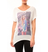Vero Moda State S/S Top Box it 10107895 Blanc