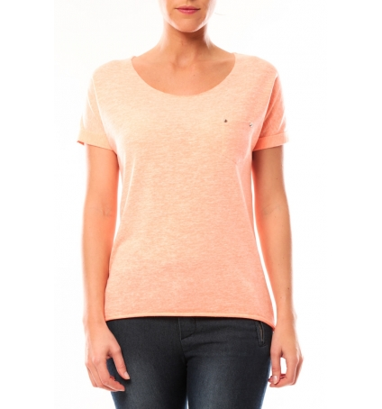 By La Vitrine Tee shirt S13090 Corail