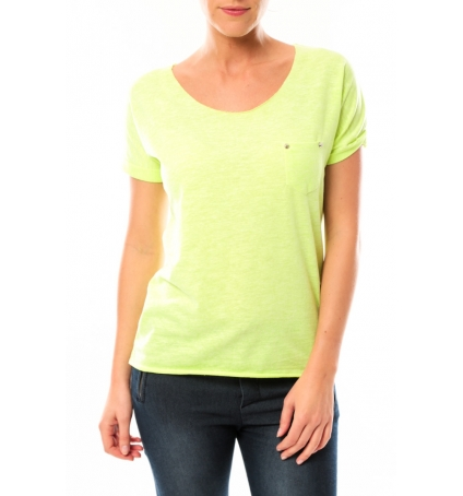 By La Vitrine Tee shirt S13090 Jaune