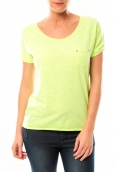 By La Vitrine Tee shirt S13090 Jaune - 1 acheté = 1 offert