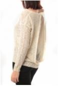 De Fil en Aiguille Pull Love Look 815 Blanc - 1 acheté = 1 offert