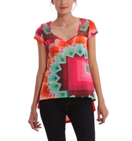 Desigual T-shirt Yury 41T2563
