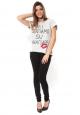 By La Vitrine Tee shirt Amelia Kiss