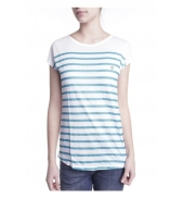Little Marcel T-shirt Doldi Bleu Turquoise