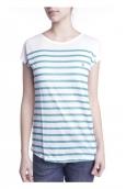 Little Marcel T-shirt Troldi Bleu Turquoise