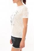 Lulu Castagnette T-shirt Cool Blanc