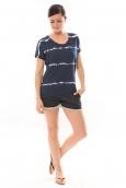 Lulu Castagnette T-Shirt Bobo Marine