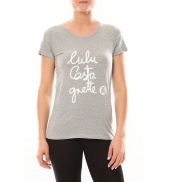 Lulu Castagnette T-shirt Muse Blanc