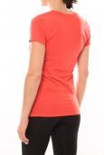 Lulu Castagnette T-shirt Muse Rouge