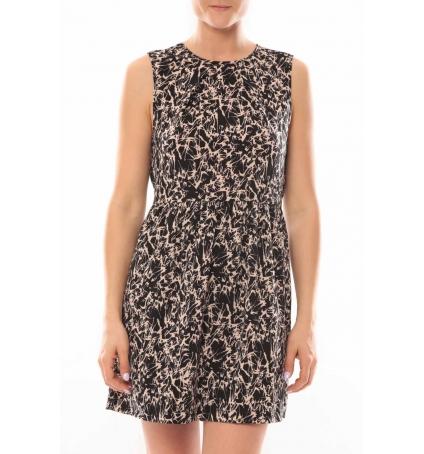 Vero Moda Robe Noel SL Mini Dress Mix Wall 10087646 Multicolor