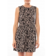 Vero Moda Robe Noel SL Mini Dress Mix Wall 10087646 Multicolor