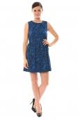 Vero Moda Tunique SL Mini Dress Mix Wall 10087646 Bleu