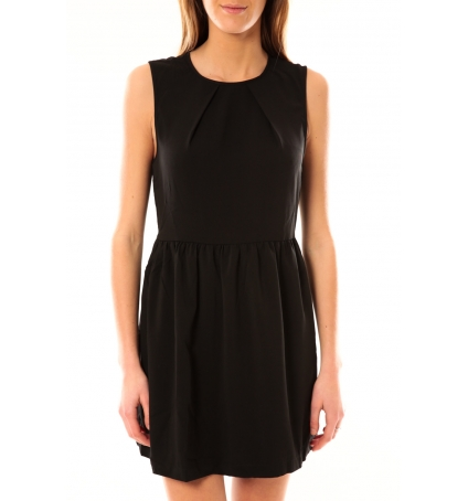 Vero Moda Robe Noel SL Mini Dress Mix Wall 10087646 Noir