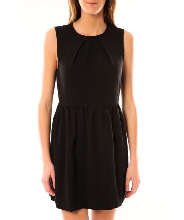 Vero Moda Robe SL Mini Dress Mix Wall 10087646 Noir