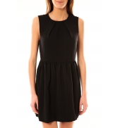 Vero Moda Robe Noel SL Mini Dress Mix Wall 10087646 Noir