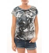 L'Atelier du Marais T-Shirt Tiger Noir