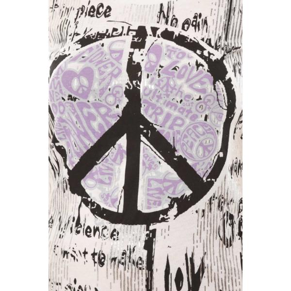 L 39 atelier du marais t shirt peace and love - Atelier du marais agencement ...
