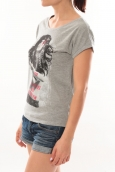 L'Atelier du Marais T-Shirt Want To See Gris