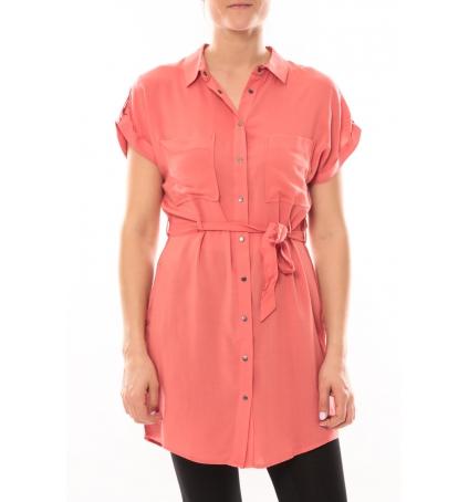 Vero Moda Dekka S/S Robe 101077894 Corail
