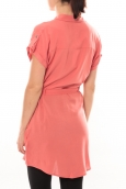 Vero Moda Derka S/S Tunic It 101077894 Corail