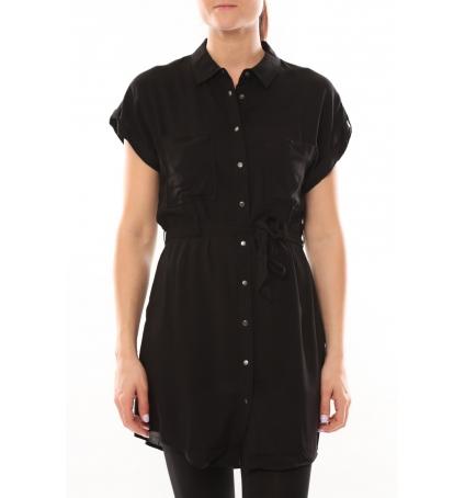 Vero Moda Dekka S/S Robe 101077894 Noir