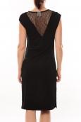 Vero Moda Shake It SL Knee Dress 10105501 Noir
