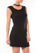 Vero Moda Starlight SL Mini Dress 10107349 Noir