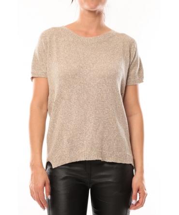 By La Vitrine T-Shirt S13010 Taupe