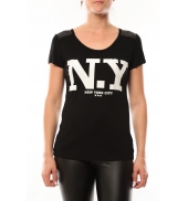 Dress Code T-Shirt Love Look NY 1660 Beige