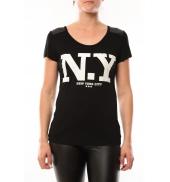 Dress Code T-Shirt Love Look NY 1660 Noir