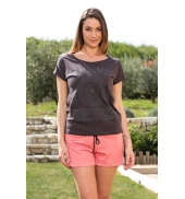Vero Moda Capy SL Wide Top 10108569 Marron
