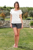 Vero Moda Uno Shorts 10108405 Gris