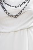 TCQB Robe Love & Money K69003 Blanc